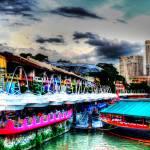 """Clarke Quay - Cityscape Singapore 2013"" by sghomedeco"