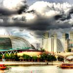 """Architecture -Esplanade Theatre Singapore"" by sghomedeco"