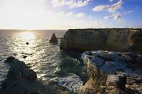 Sunset at the Cliffs Of Cabo Rojo