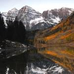 """Maroonbells Reflection"" by mellow"