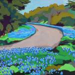 """""""Bluebonnet Road"""" by MelindaPatrick"""