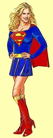 Supergirl (Traditional, blue skirt)