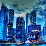 """City Twilight - Urban Landscape Singapore 2013"" by sghomedeco"