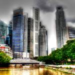 """City Skyline Singapore 2013 - Urban Landscape Phot"" by sghomedeco"