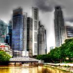 """City Skyline Singapore 2013 - Urban Landscape Phot"" by sghomedeco"