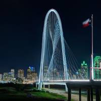 Margaret Hunt Hill Bridge, Dallas, Texas Art Prints & Posters by Dave Wilson