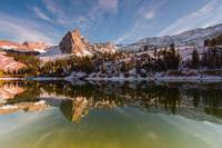 Lake Blanche First Winter