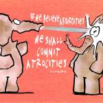 """If We Believe Absurdities"" by Isacat"