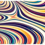 """""""Curved Rounded Lines Flowing"""" by LeahMcNeir"""