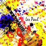"""Les Paul Retro"" by brianraggatt"