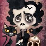 """""""Edgar Poet"""" by sandygrafik_arts"""