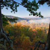 Misty Morning - Cuyahoga Valley Art Prints & Posters by Stephen Brown