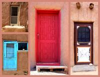 Pueblos Doors of New Mexico 2