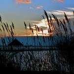 """Sunset over Assawoman Bay at Northside Park"" by travel"