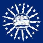 """""""Buffalo city New York flag"""" by tony4urban"""