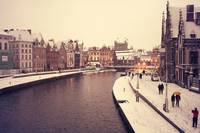 Ghent at snow - 3 days