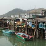 """Houses on stilts Tai O"" by gregnean"