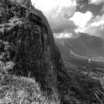 """View of Koolau Mountain from Pali Lookout 1"" by robertmeyerslussier"
