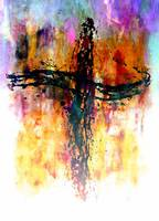 Impressionistic Cross