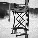 """P13-14RA-Beach Chair In Water"" by raBHA2014"
