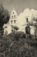 Old Mission San Diego sepia