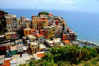 ColorfuI Manarola Homes -Cinque Terre, Italy