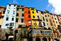 Colorful Homes in Portovenere, Italy