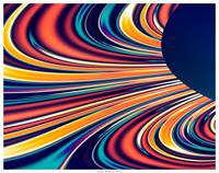 Color & Form Abstract - Solar Gravity & Magnetism