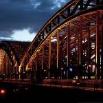 """Hohenzollern Bridge, Cologne, Germany"" by IK_Stores"