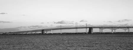 Chesapeake Bay Bridge, Maryland, B&W