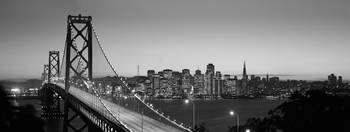 Bay Bridge, San Francisco, B&W