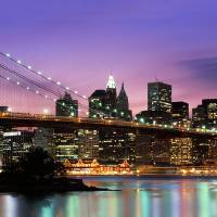"""Brooklyn Bridge, New York"" by IK_Stores"