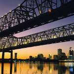 """""""Crescent City Connection, New Orleans"""" by IK_Stores"""