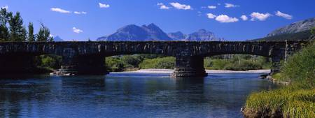 Bridge at Glacier National Park, Montana