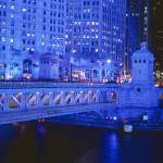 """DuSable Bridge, Chicago"" by IK_Stores"