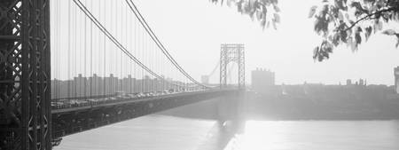 George Washington Bridge, New York, B&W