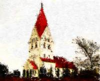 St Severin Church in Haderslev_Impressionist Digit