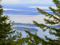 San Juan Islands From Mount Constitution
