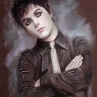 Billie Joe Armstrong Art Prints & Posters by Melanie D
