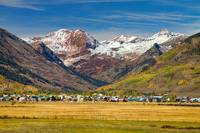 Crested Butte Colorado Autumn View