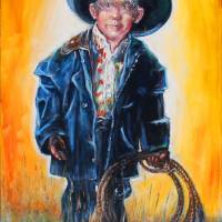 Lil' Roper Art Prints & Posters by Rick Unger