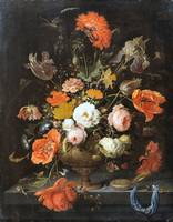 Still Life with Flowers and Watch