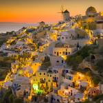 """Santorini Sunset"" by bkindler"