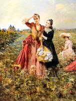 Picking Wildflowers 1891