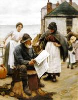 When the Boats are Away Walter Langley