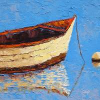 Chilling At Sea Art Prints & Posters by Noreen Rebiere Coup