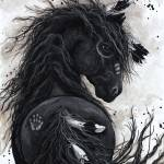 """""""Fancy Friesian - Majestic Horse"""" by AmyLynBihrle"""