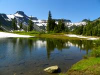 Scenic Beauty Of Mount Baker