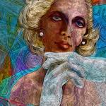"""Tamara de Lempicka: Soft Sophisticate, with a Hard"" by AlmaLee"