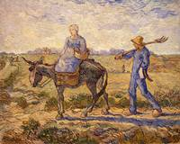 Morning, going out to work, 1888